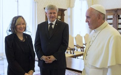 Did Stephen Harper Eat the Host? Or Not?