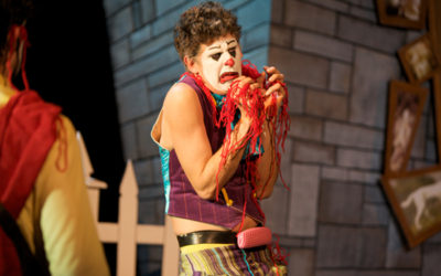 MöcShplat: Macbeth Played by Clowns. In Gibberish.